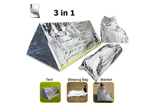 Mylar blanket Emergency Tent Thermal Sleeping Bag